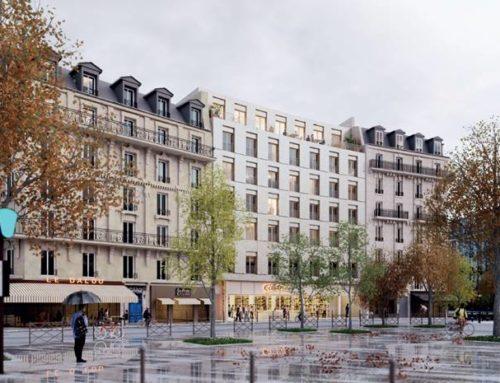 Une auberge de jeunesse en bois en plein coeur de Paris