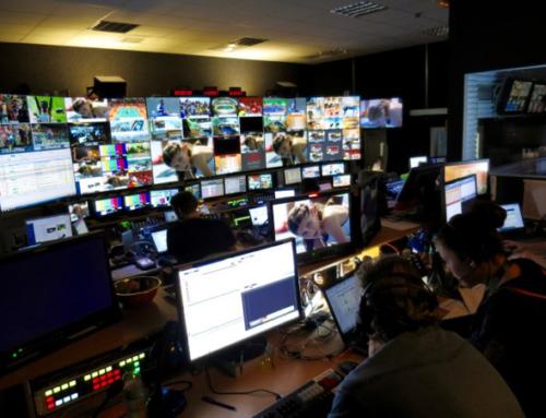 Le Centre Principal des Médias pour les JO Paris 2024.